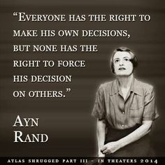 Image result for master of my own destiny ayn rand