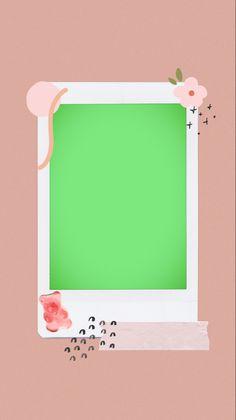 Polaroid Frame, Polaroids, Polaroid Template, Overlays Instagram, Cute Stories, Instagram Story Template, Cute Icons, Ig Story, Photo Editing