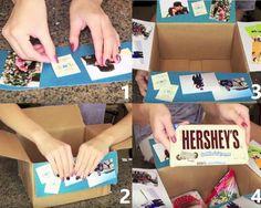 Regalos que puedes hacer por ti misma, caja con dulces