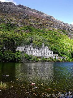 ✯ Kylemore Abbey in the  Connemara Mountains - Ireland