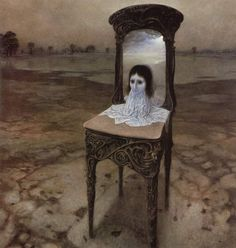 Polish Painter Who Learned To Photograph Dreams - His Works Will Give You Nightmares