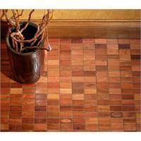 Fortis Arbor Wood Tile Mosaics from Flux Studios