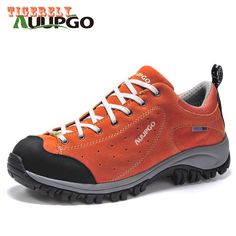 67.20$  Watch here - http://aliaxn.shopchina.info/go.php?t=32809213462 - Outdoor hiking shoes men trekking breathable leather outventure travel hunting athletic sneakers shoes boots size 36-44(307) 67.20$ #bestbuy