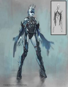 View an image titled 'Killer Frost Design Art' in our Injustice: Gods Among Us art gallery featuring official character designs, concept art, and promo pictures. Game Character Design, Comic Character, Character Creation, Character Ideas, Game Design, Design Art, Injustice 2 Comic, Comic Costume, Killer Frost