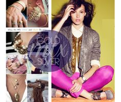 5 Fashions rules to be broken: Mix gold and silver together!