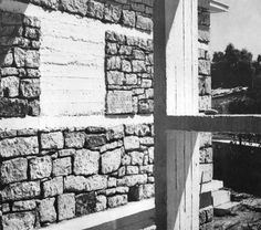 """Weekend House in Sykia Sykia - Corinthia, Peloponnese, Greece; 1951 Aris Konstantinidis """"see map """" Weekend House, Postmodernism, Greece, Architects, Extensions, Touch, Detail, Design, Winter Time"""