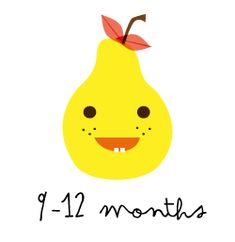 9-12 months Baby food recipes
