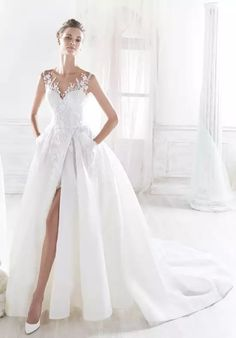 Nicole Collection 2018 NIAB10845 Ball Gown Wedding Dress