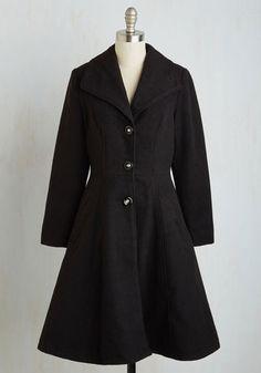 1950s coat. Dash to the Cultural District Coat $99.99 AT vintagedancer.com