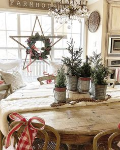 I hope your day is merry and bright! I kept our kitchen table a little simple since the dining room has so much going on! Of course knowing me .. this could change! ❤️ ... ... ... .. #christmas #christmastime #southernlivingmag #farmhousechristmas #bhg #homedecor #homestyling #homedecoration #farmhouse #farmhousedecor #farmhousechic #farmhousechic #farmhousekitchen #rusticchristmas #christmasdecorations #christmastree #hobbylobby #homegoods #homegoodshappy #southernlivingmag ... ......