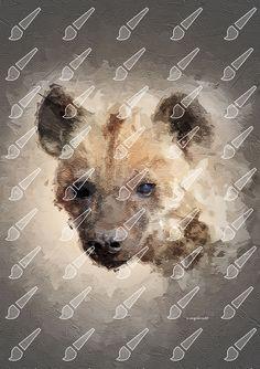 Fine digital artwork for your walls Test Card, Hyena, Palette Knife, Digital Art, Fine Art, Artwork, Work Of Art, Auguste Rodin Artwork, Artworks