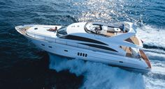 Princess 67. 3 Cabins, 6 Berths. Available for Charter in Croatia