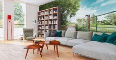 """Homeplaza - Eigene Bilder oder Lieblingsmotiv in HD-Qualität einfach an die Wand bringen - Wände mit """"Wow-Effekt"""""""