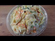 Amerikai káposzta saláta ( coleslaw ) ahogy én készítem :-) ropogós, friss, OLCSÓ, ízbomba :-) - YouTube Cabbage Salad, Coleslaw, Potato Salad, The Creator, Fresh, Vegetables, Ethnic Recipes, Youtube, Food