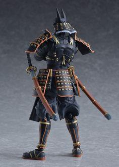 figma No. Warrior 1, Anime Warrior, Shadow Warrior, Batman Figures, Action Figures, Anime Figures, Batman Ninja, Cyber Ninja, Comics