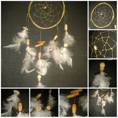 "Dreamcatcher ""Willow happiness"" by CatWorkshopDream on Etsy"