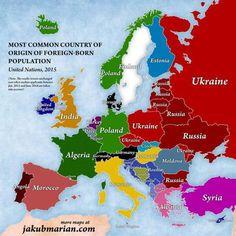 En çok yabancı hangi ülkeden
