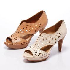 3-2780 Fair Lady 鏤空雕花露趾厚底高跟鞋 棕 - Yahoo!奇摩購物中心 Fair Lady, Peeps, Yahoo, Peep Toe, Shoes, Fashion, Zapatos, Moda, Shoes Outlet