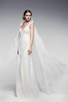 """Pallas Couture """"Fleur Blanche"""" Spring/Summer 2014 Bridal Collection - Polka Dot Bride"""