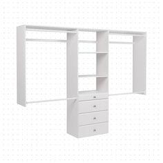 Dotted Line Grid - Closet System Pax Closet, Closet Drawers, Closet Rod, Closet Bedroom, Closet Space, Master Closet, Closets, Closet Renovation, Closet Remodel