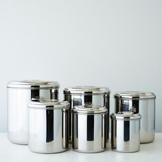 Stainless Steel Canisters (Set of 6) on Provisions by Food52