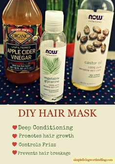 DIY masks are perfect if you want great looking hair. BTW who does not want it...Right??  Hair masks restore shine and bring back lif...