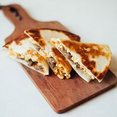 Breakfast Quesadillas | The classic breakfast sandwich goes south of ...