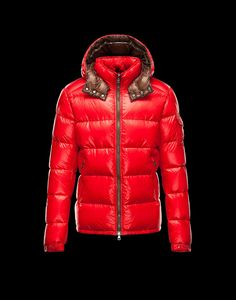 Cheap 2013 Mens Moncler New Arrival Jackets Red