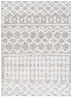Vernonburg VRNNB with colors White, White/Light Gray. Machine Woven Polypropylene Global made in Turkey Amazon Prime Day Deals, Welcome To My House, White Rug, White White, Rug Cleaning, Rugs In Living Room, Room Rugs, Woven Rug, Jaipur