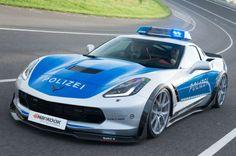 """Cars - Corvette C7 Stingray : la préparation """"Polizei"""" de TIKT Performance ! - http://lesvoitures.fr/corvette-c7-stingray-la-preparation-polizei-de-tikt-performance/"""
