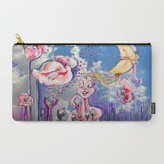 Jesters Journey Carry-All Pouch by crismanart Organize Your Life, Pouches, Carry On, Baby Kids, Coin Purse, Journey, Canvas, Art Supplies, Illustration