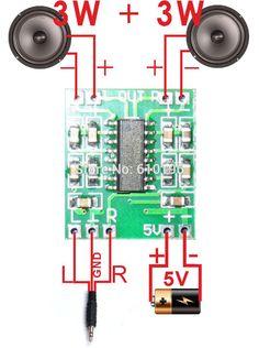 PAM8403 슈퍼 미니 디지털 앰프 보드 2*3 와트 클래스 D 디지털 2.5 볼트 5 볼트 전원 증폭기 보드 효율적인