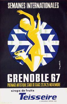 Roger David, Grenoble, 1967