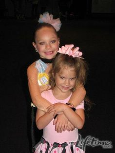 Dance Moms Maddie and Mackenzie