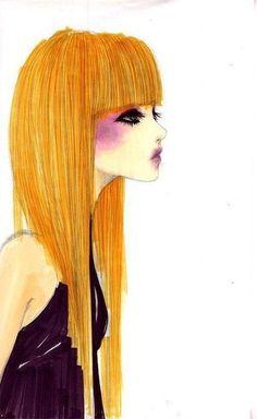 Fashion blonde girl