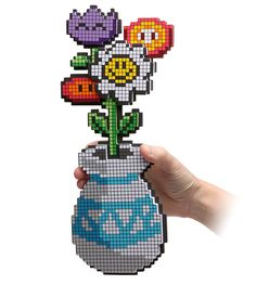 We raced across the finest retro gaming platformers to pluck these choice posies for your pixel based enjoyment. The 8-Bit Flower Bouquet is guaranteed to never wilt and is the perfect gift for the old-skool girl gamer in your life.