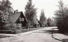 Marsstraat (foto ± 1955): Met de Oostenrijkse woningen