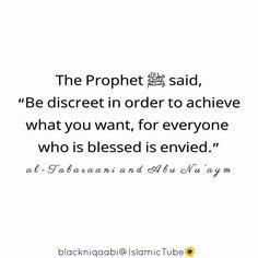 Be Discreet in...
