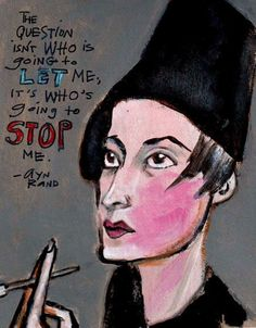 Image result for ayn rand about the woman's day