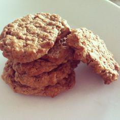 guilt-free, vegan peanut butter cookies