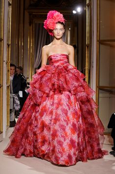 7976563436 Jessica Biel s Wedding dress inspiration perhaps...Giambattista Valli  Spring 2012 Pink Fashion