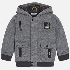 574da9723 Mayoral Jacket - Grey. Hooded SweatshirtsKnitted FabricBoy  OutfitsKnittingPocketClothingBaby KidsBoysCotton