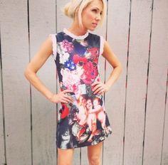 Cherub Print Dress 2013