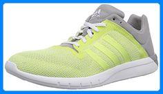 adidas Climacool Fresh 2, Damen Hallenschuhe, Gelb (Light Flash Yellow S15/Light Flash Yellow S15/Mgh Solid Grey), 38 EU (5 Damen UK) - Sneakers für frauen (*Partner-Link)