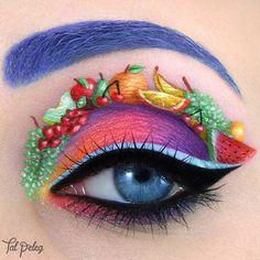 Top 10 Makes Lindas Inspiradas em Frutas » Pausa para Feminices