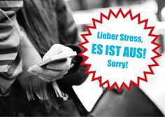 Mach Schluss mit Stress   Humor   Echte Postkarten online versenden…