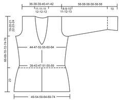 """Calluna - DROPS kabát pletený vroubkovým vzorem s pecičkami podél lemů z příze """"Delight"""" a z příze """"Kid-Silk"""". Velikost S – XXXL. - Free pattern by DROPS Design"""