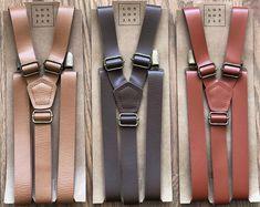 Brown Groomsmen, Groomsmen Suspenders, Leather Suspenders, Bohemian Wedding Rings, Boho Beach Wedding, Rustic Wedding, Bow Tie Wedding, Wedding With Kids, Clip