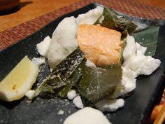 Salmon of Aburiya Box lunch @Aburiya Kinnosuke (April 2012)