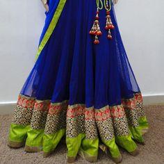 green blue lehenga indian bridal dress